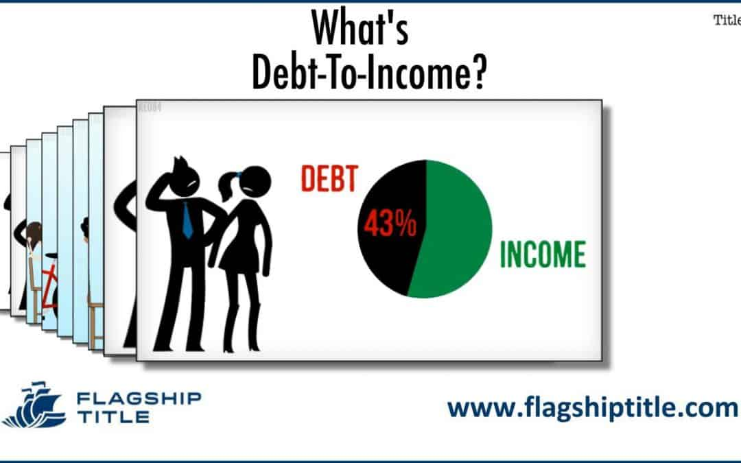 What Is The Debt-To-Income Ratio (DTI)?